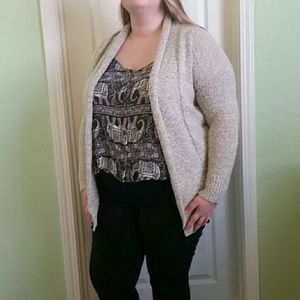 Forever 21 oatmeal cardigan